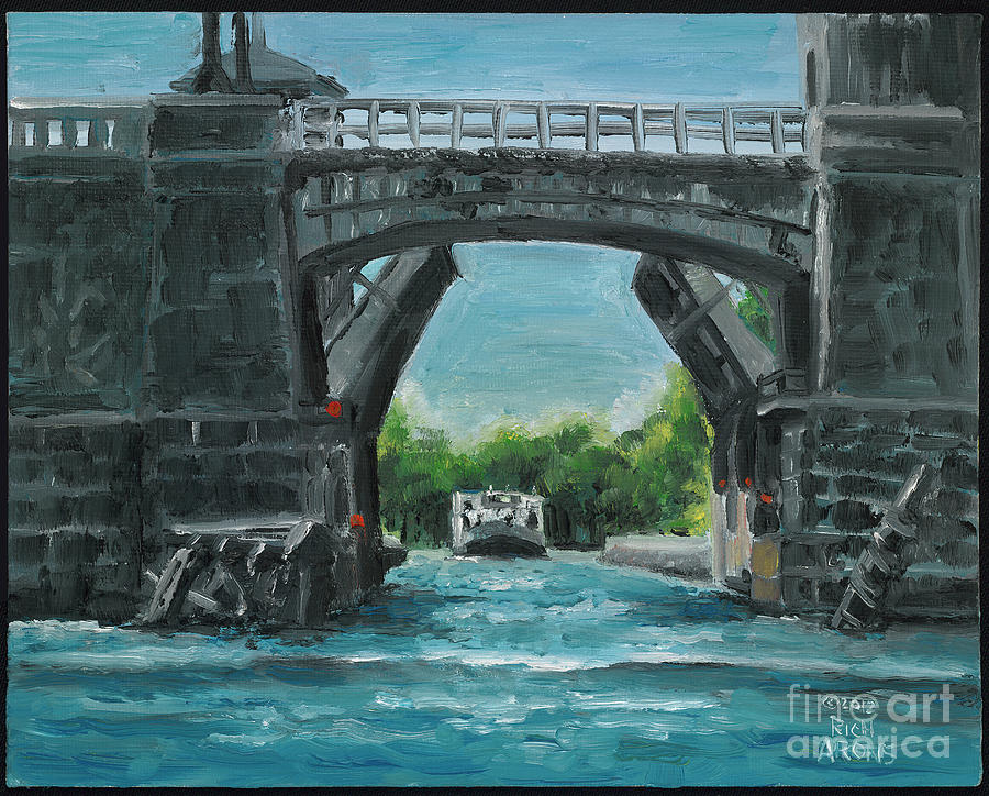 River Charles Painting