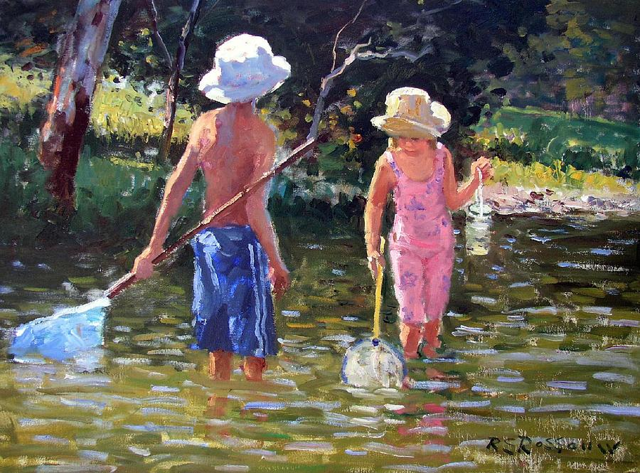 River Fun Painting
