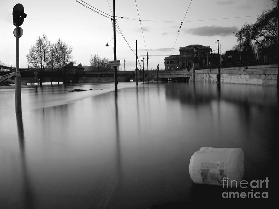 River In Street Photograph  - River In Street Fine Art Print
