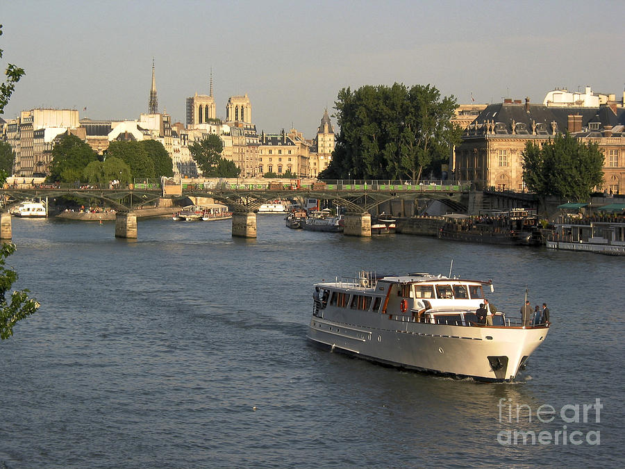 River Seine In Paris Photograph