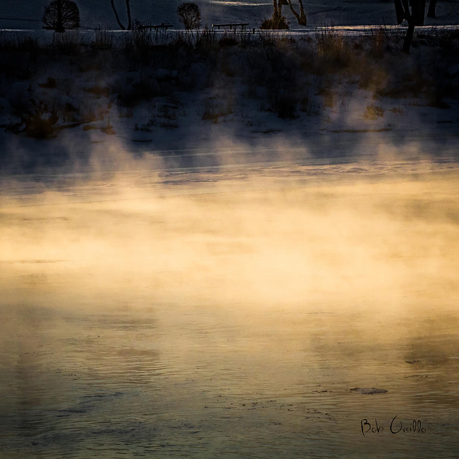 River Smoke Photograph  - River Smoke Fine Art Print
