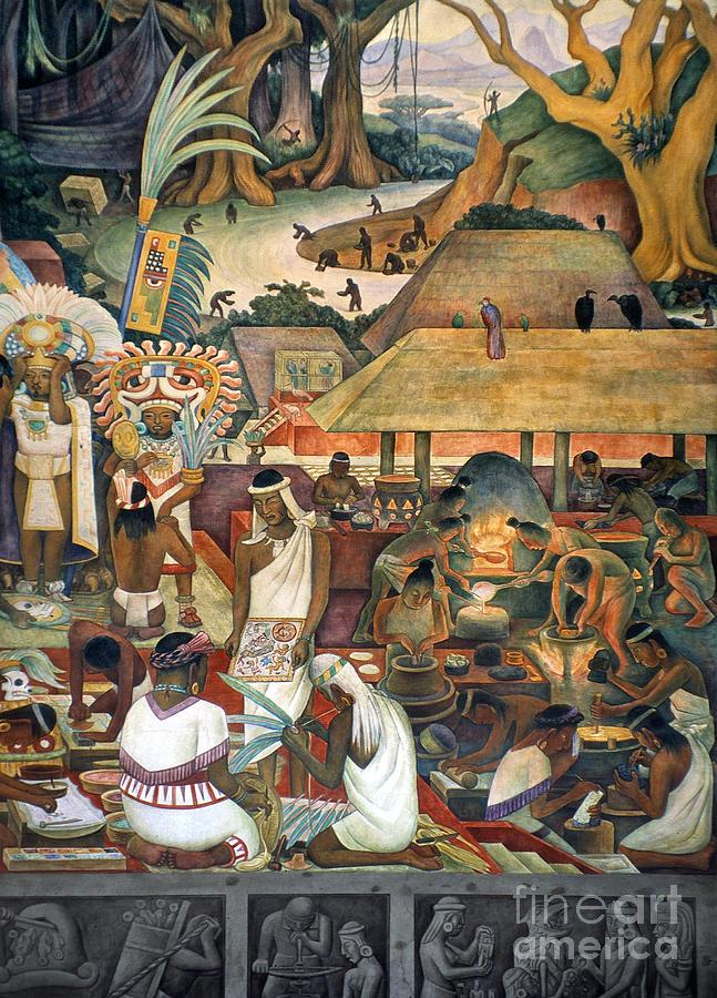 Rivera: Pre-columbian Life Photograph