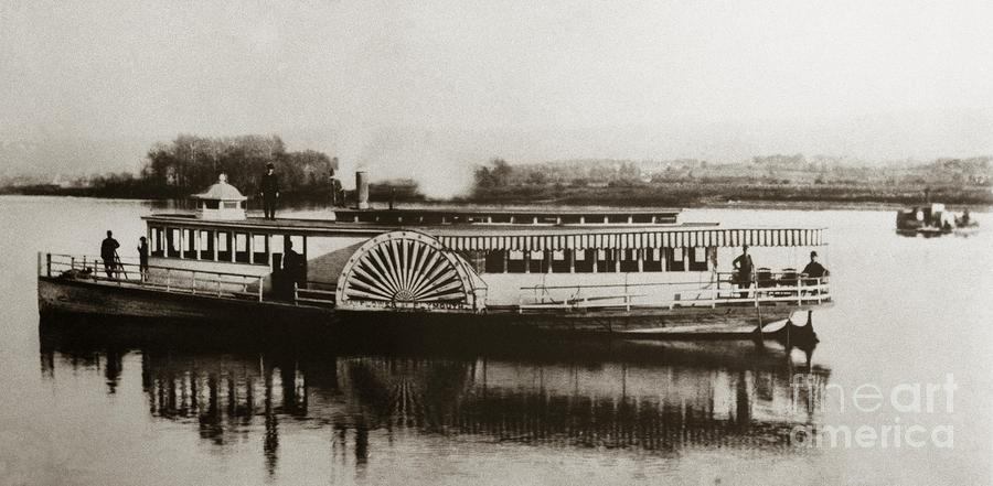 Riverboat Mayflower Of Plymouth Susquehanna River Near Wilkes ...