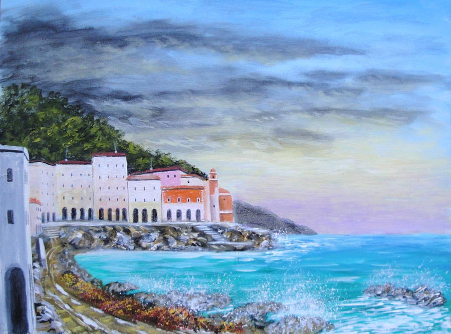 Riviera Ligure Painting