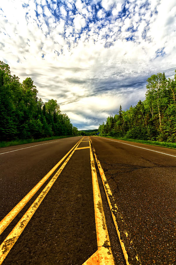 Road To Canada Photograph  - Road To Canada Fine Art Print