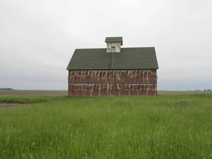 Old Rusted Barn Photograph - Road To Champaign-2 by Todd Sherlock