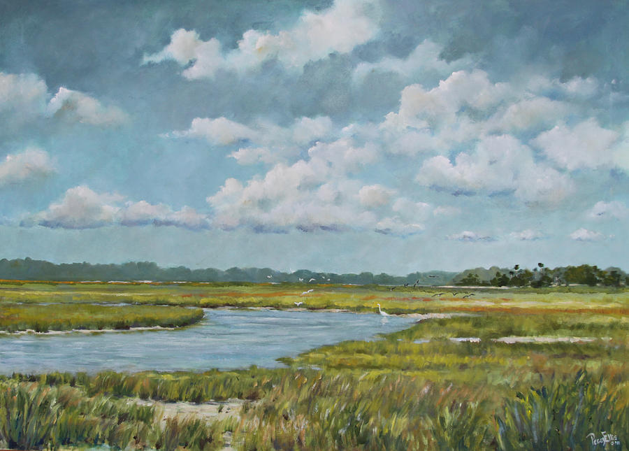 Road To Kiawah Painting