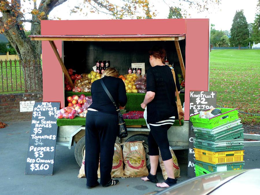 Roadside Fruit And Veg Photograph