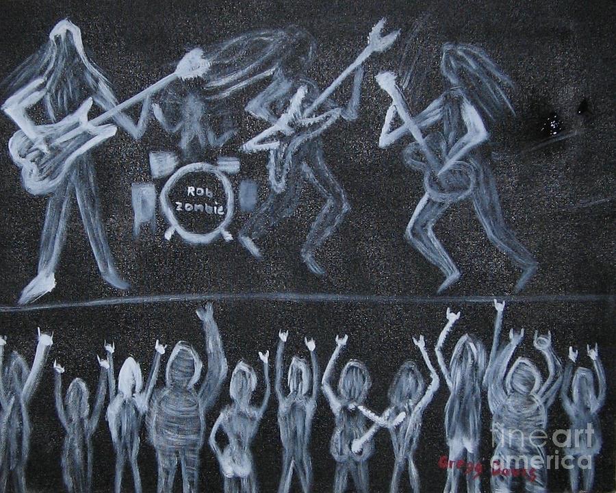 Rob Zombie Painting