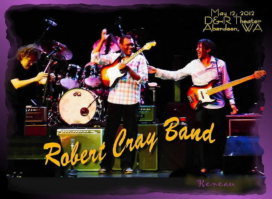 Robert Cray Band Photograph  - Robert Cray Band Fine Art Print
