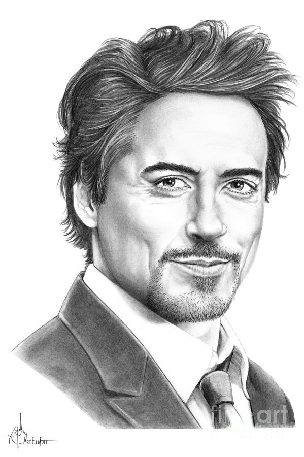 Robert Downey Jr. Drawing