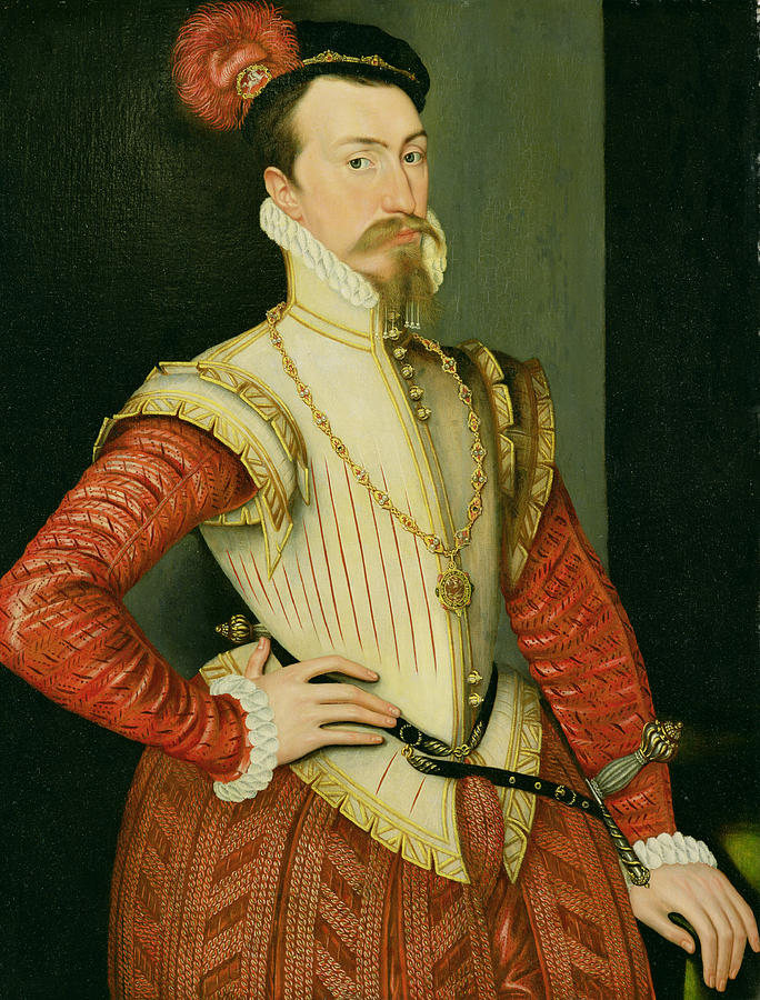 Robert Dudley - 1st Earl Of Leicester Painting