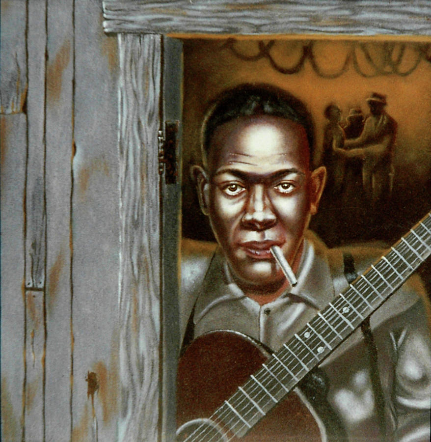 Robert Leroy Johnson Painting  - Robert Leroy Johnson Fine Art Print