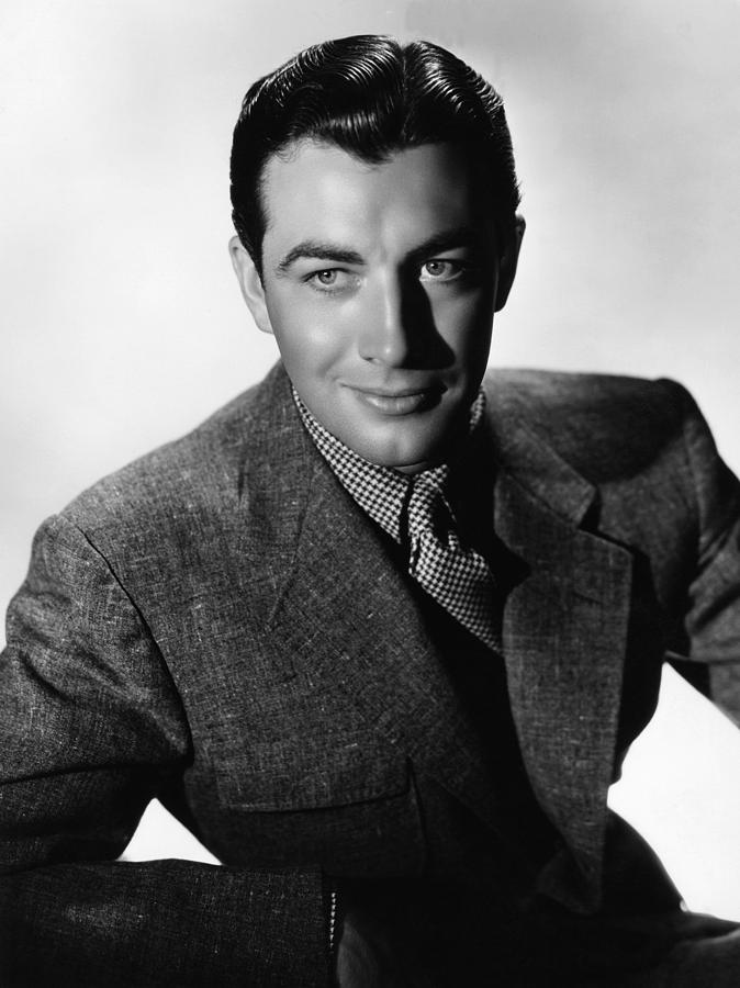 Robert Taylor, Mgm Portrait By Hurrell Photograph  - Robert Taylor, Mgm Portrait By Hurrell Fine Art Print