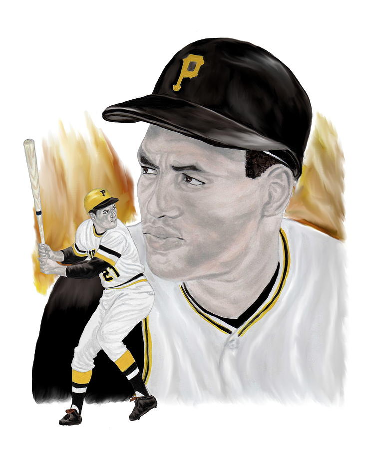 Roberto Clemente Painting