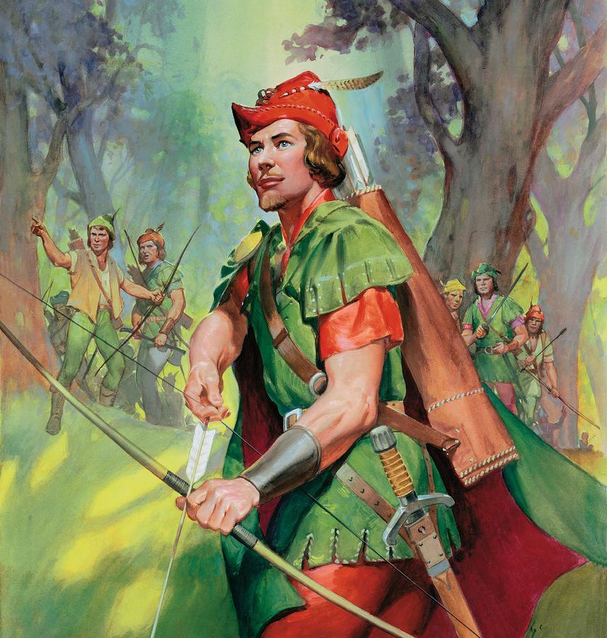 Robin Hood Painting