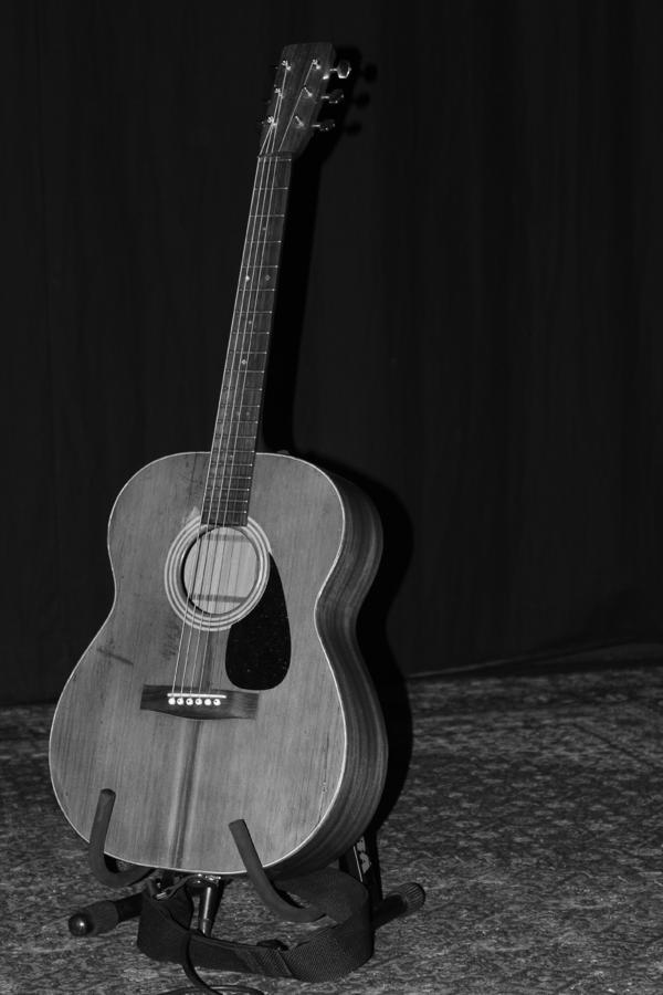 Robyn Hitchcocks Guitar Photograph