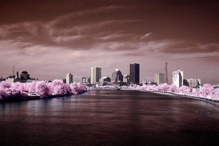 Rochester skyline photograph by stephen pacello