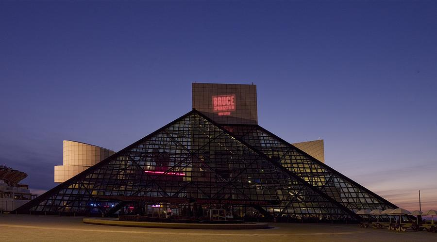 Rock And Roll Hall Of Fame Cleveland Photograph