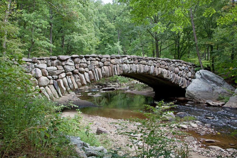 Rock Creek Park Old Stone Bridge by Carol M Highsmith