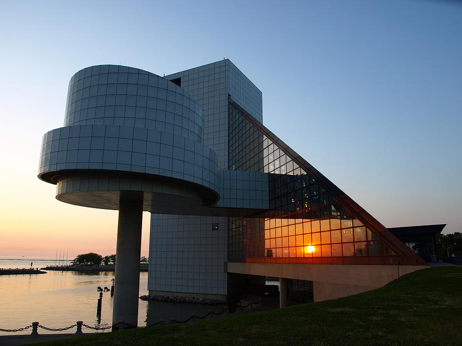 Rock Hall At Sunset Photograph  - Rock Hall At Sunset Fine Art Print