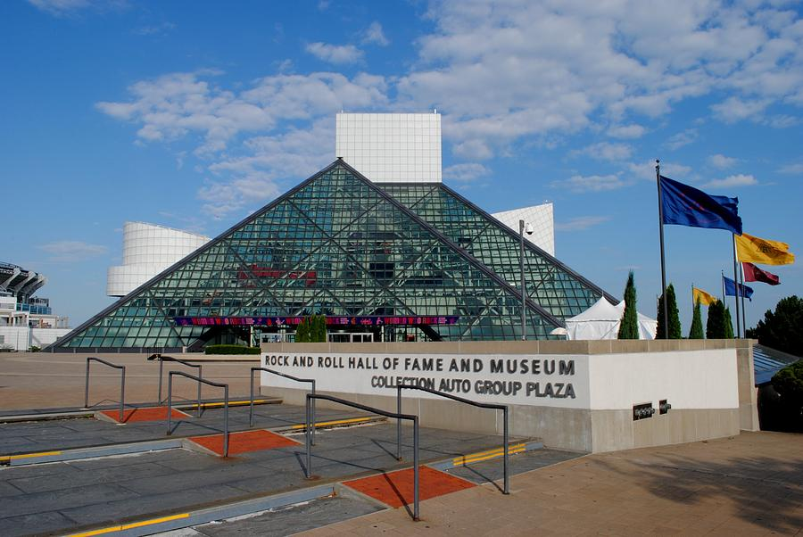 Rock Hall Of Fame Photograph  - Rock Hall Of Fame Fine Art Print