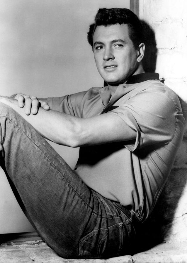 Rock Hudson, C. Mid 1950s Photograph