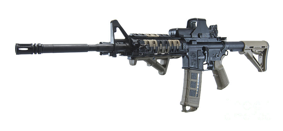 Rock River Arms Ar-15 Rifle Photograph
