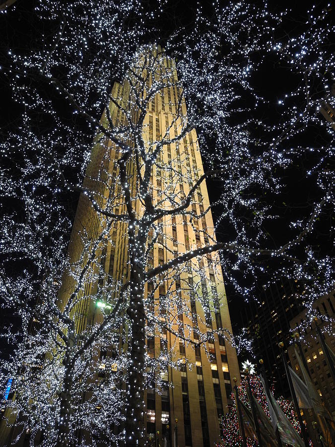 Rockefeller Center Christmas Photograph