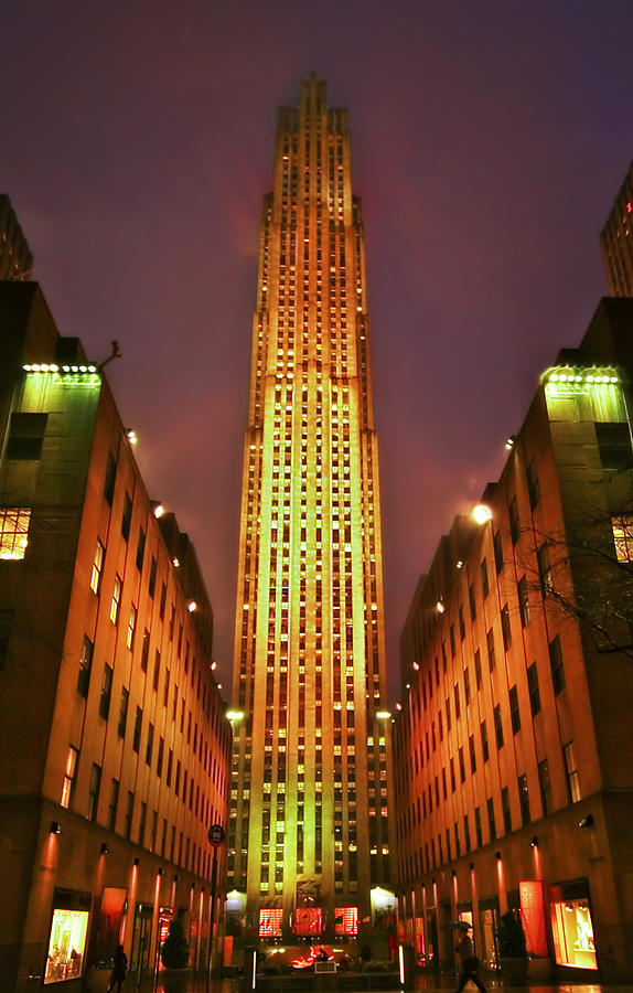 Rockefeller Center Photograph