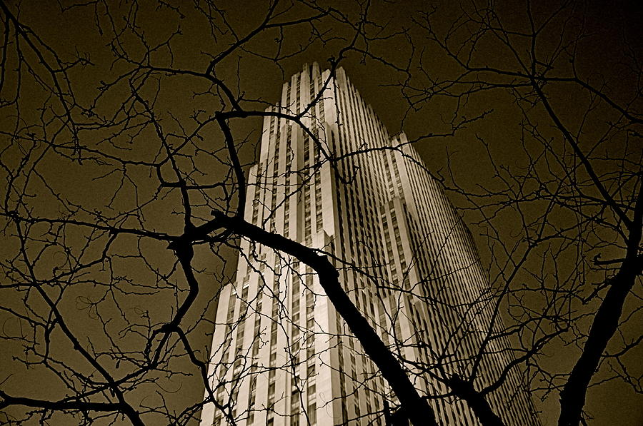 Rockefeller Center Photograph  - Rockefeller Center Fine Art Print