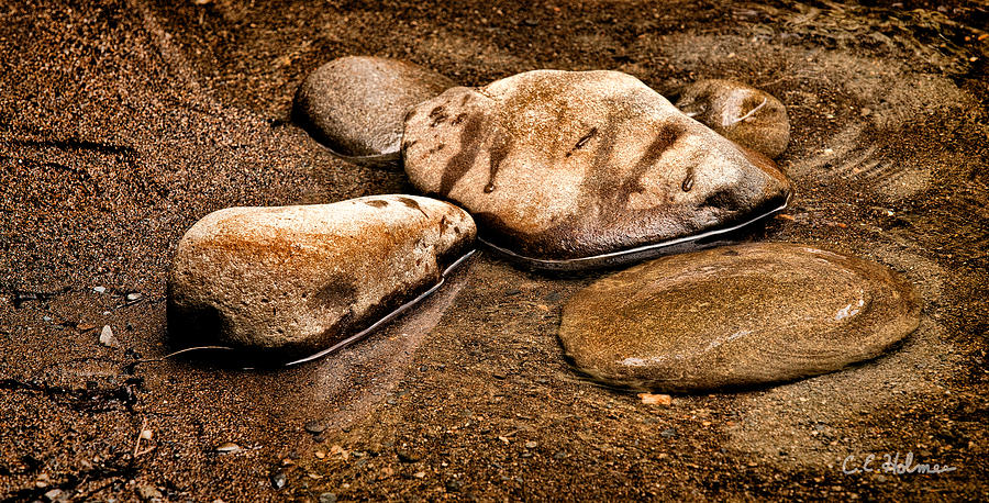 Rocks At Rest Photograph  - Rocks At Rest Fine Art Print