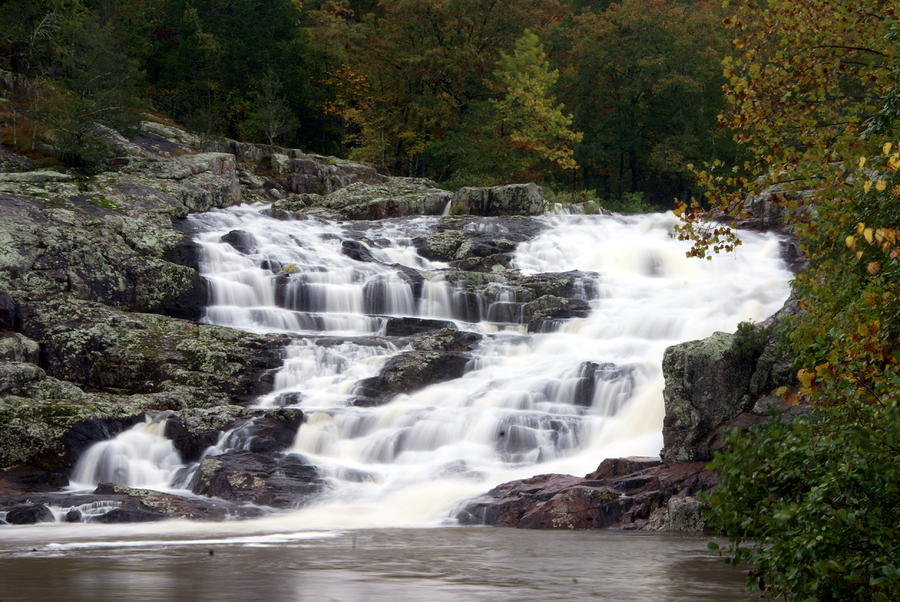 Rocky Falls Photograph
