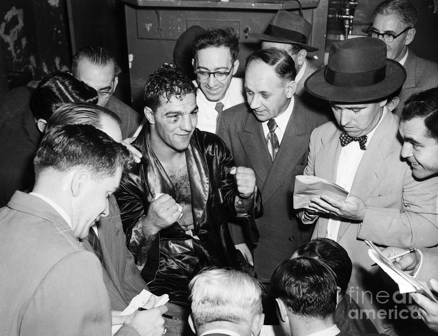 Rocky Marciano (1924-1969) Photograph