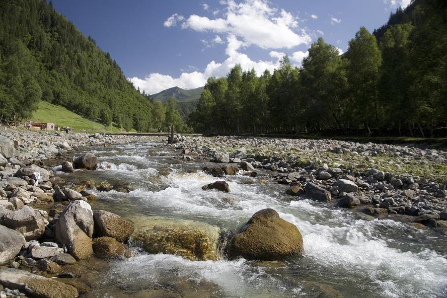 rocky mountain creek wallpaper - photo #28