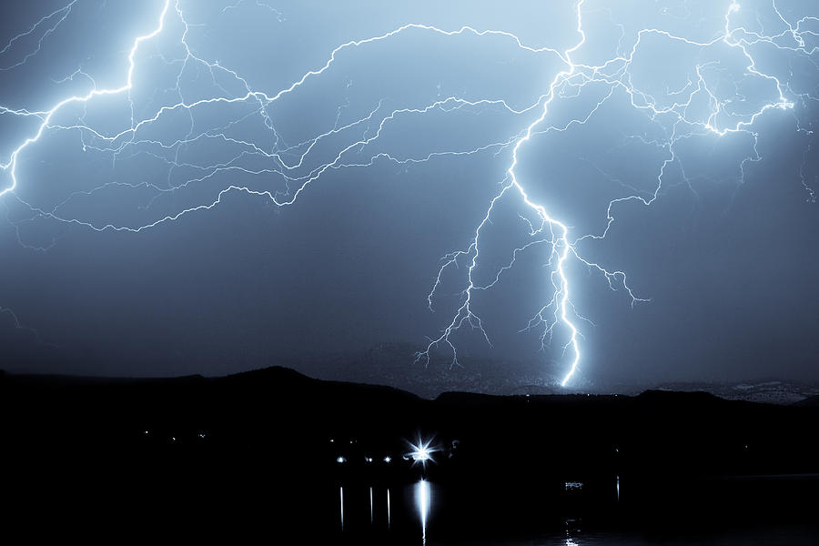 Rocky Mountain Storm Photograph