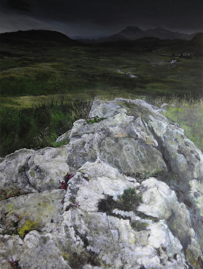 Rocky Outcrop Painting