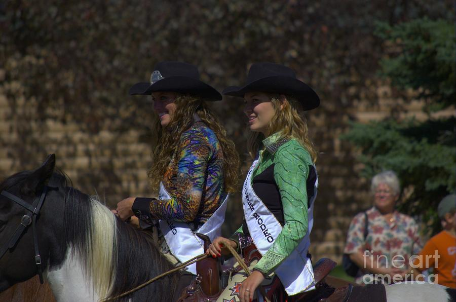 Rodeo Queens Photograph
