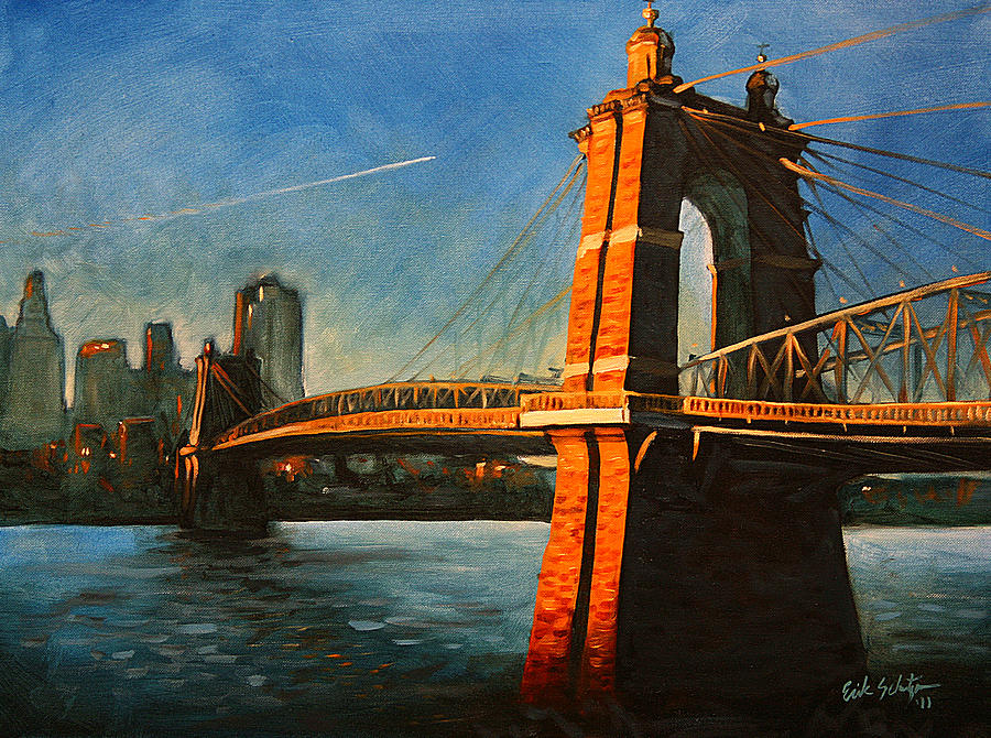 Roebling Bridge No.1 Painting