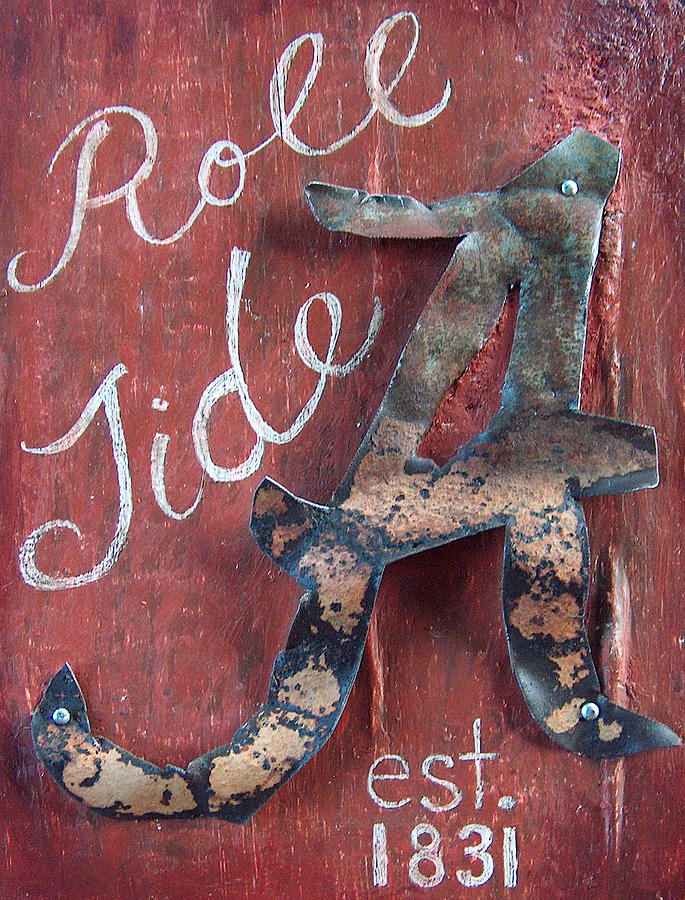 Roll Tide Mixed Media  - Roll Tide Fine Art Print