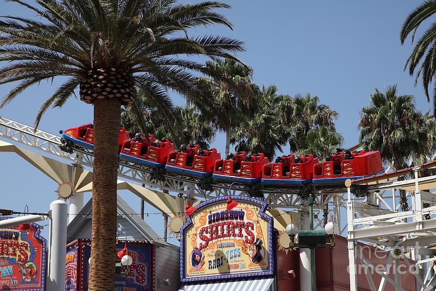 Roller Coaster - 5d17628 Photograph