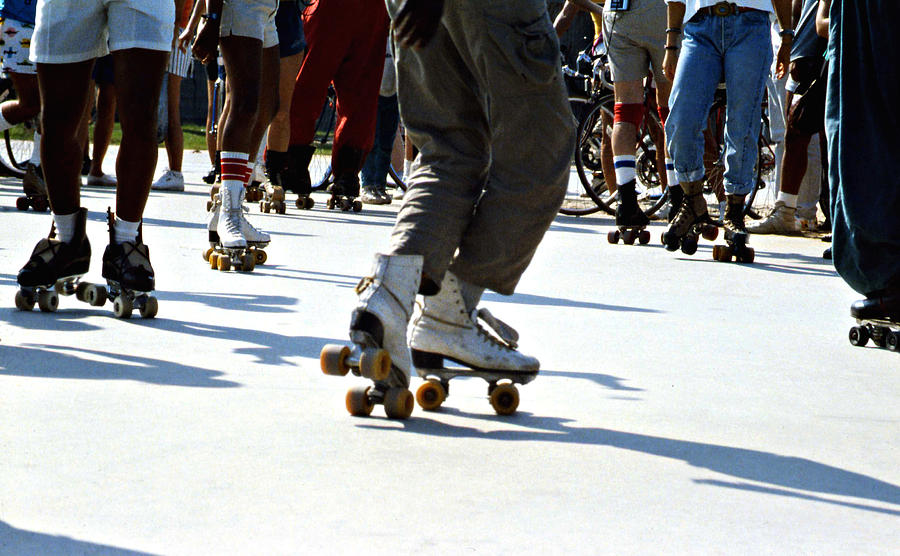 Roller Skates Photograph