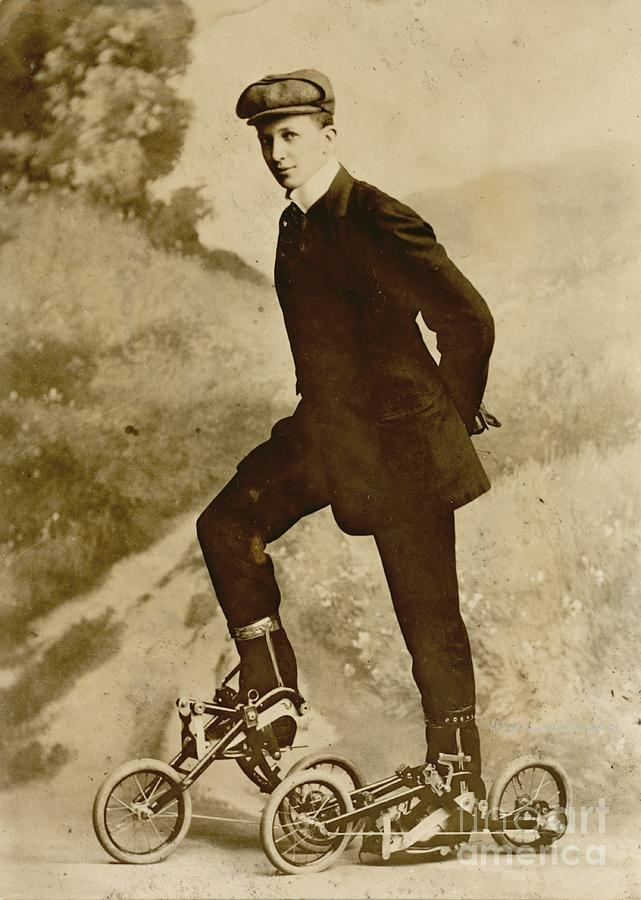 Roller Skating Photograph - Roller Skating by Padre Art