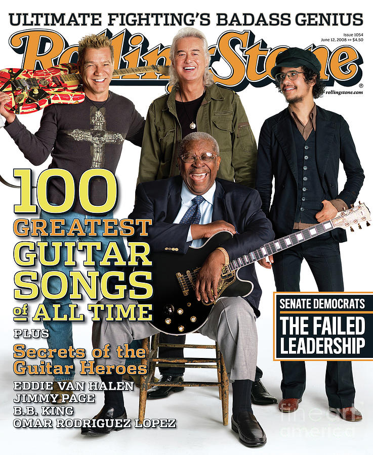 Rolling Stone Cover - Volume #1054 - 6/12/2008 - Guitar Gods Photograph  - Rolling Stone Cover - Volume #1054 - 6/12/2008 - Guitar Gods Fine Art Print