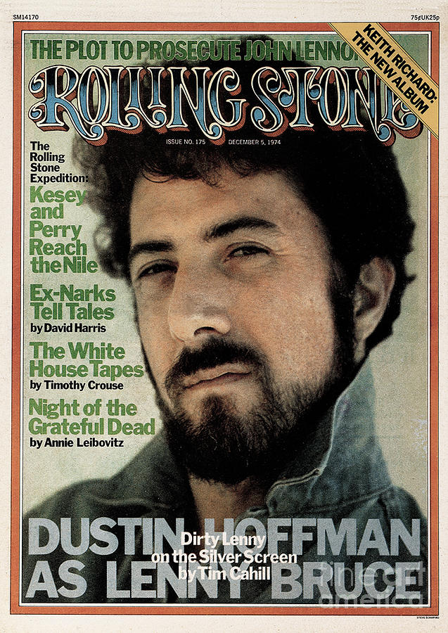 Rolling Stone Cover - Volume #175 - 12/5/1974 - Dustin Hoffman Photograph  - Rolling Stone Cover - Volume #175 - 12/5/1974 - Dustin Hoffman Fine Art Print