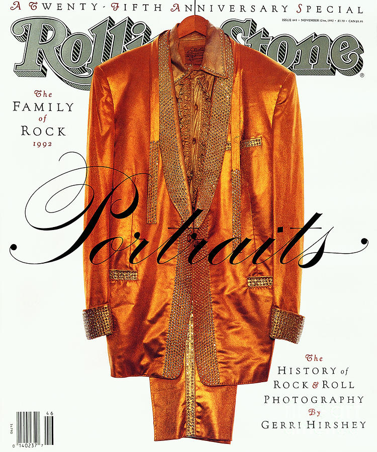 Rolling Stone Cover - Volume #643 - 11/12/1992 - Twenty-fifth Anniversary - The Portraits Photograph  - Rolling Stone Cover - Volume #643 - 11/12/1992 - Twenty-fifth Anniversary - The Portraits Fine Art Print