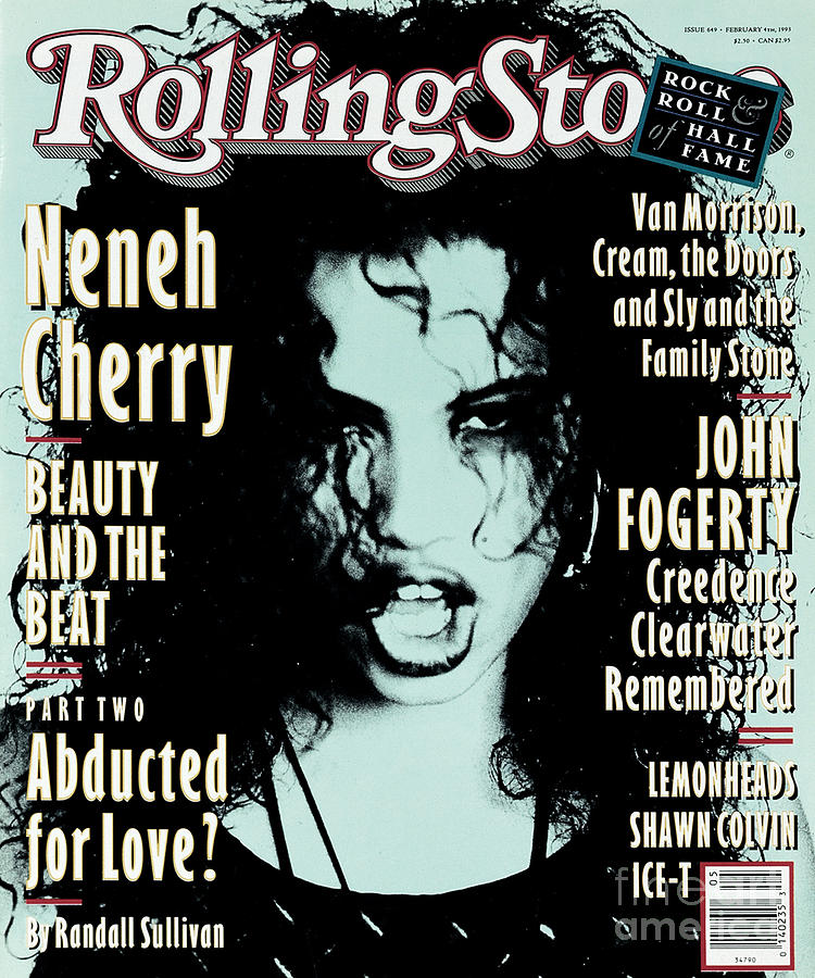 Rolling Stone Cover - Volume #649 - 2/4/1993 - Neneh Cherry Photograph  - Rolling Stone Cover - Volume #649 - 2/4/1993 - Neneh Cherry Fine Art Print