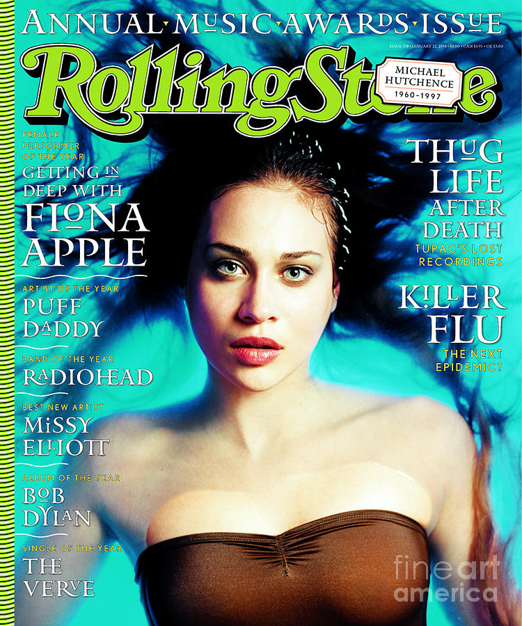 Rolling Stone Cover - Volume #778 - 1/22/1998 - Fiona Apple Photograph  - Rolling Stone Cover - Volume #778 - 1/22/1998 - Fiona Apple Fine Art Print