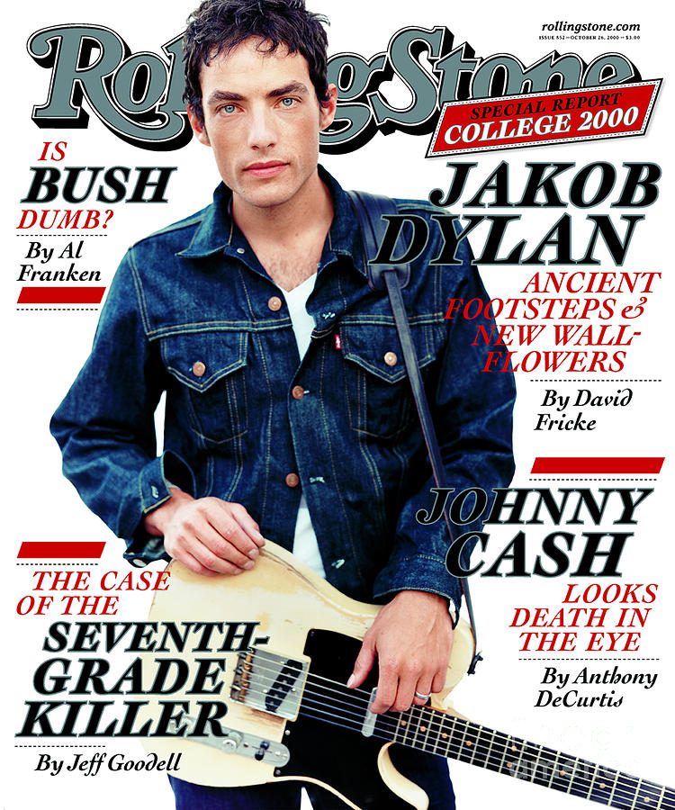 Rolling Stone Cover - Volume #852 - 10/26/2000 - Jacob Dylan Photograph  - Rolling Stone Cover - Volume #852 - 10/26/2000 - Jacob Dylan Fine Art Print