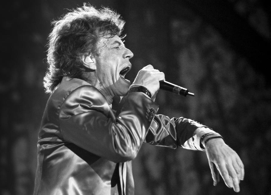 Rolling Stones Xi Photograph